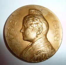 VINTAGE MEDAL COIN ARGENTINA A LA MEMORIA DE JUANA GARCIA DE PINTO 1810 - 1910