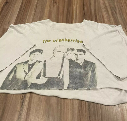 Vintage 90's Original Cranberries Chopped Cropped