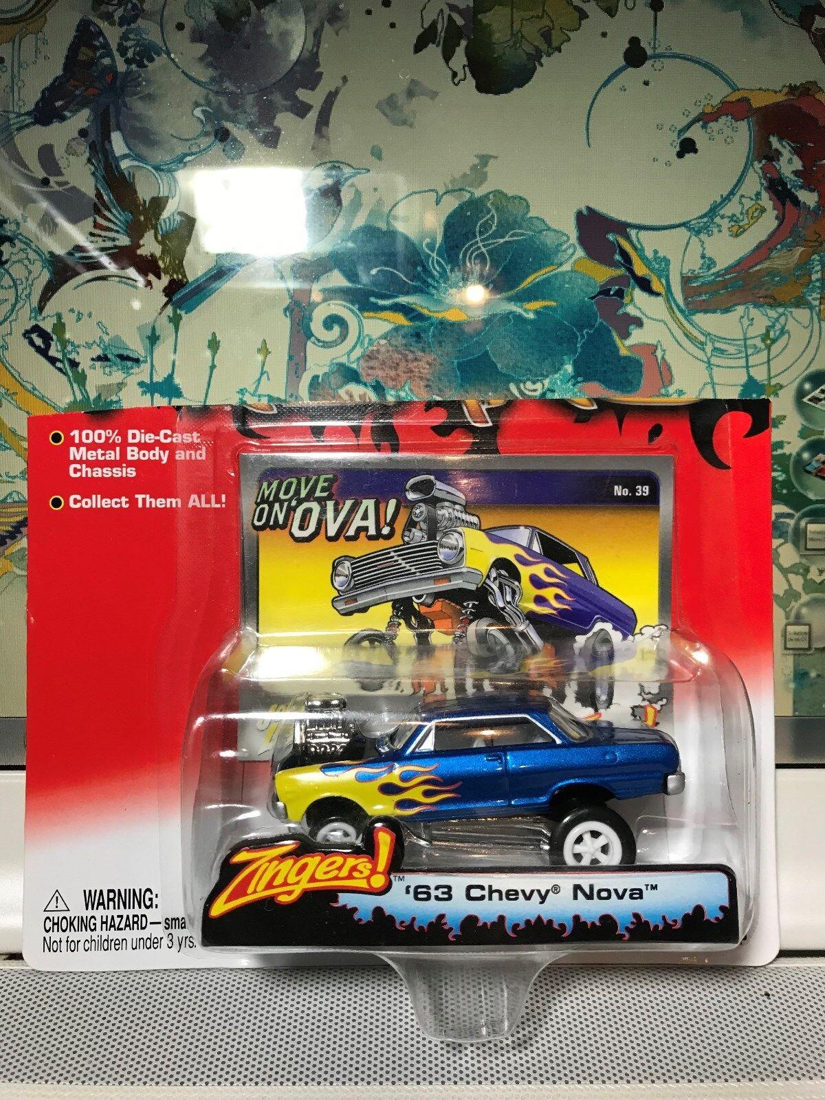nelle promozioni dello stadio Johnny bianca Lightninig  63 Chevy Nova    Zinger   a buon mercato