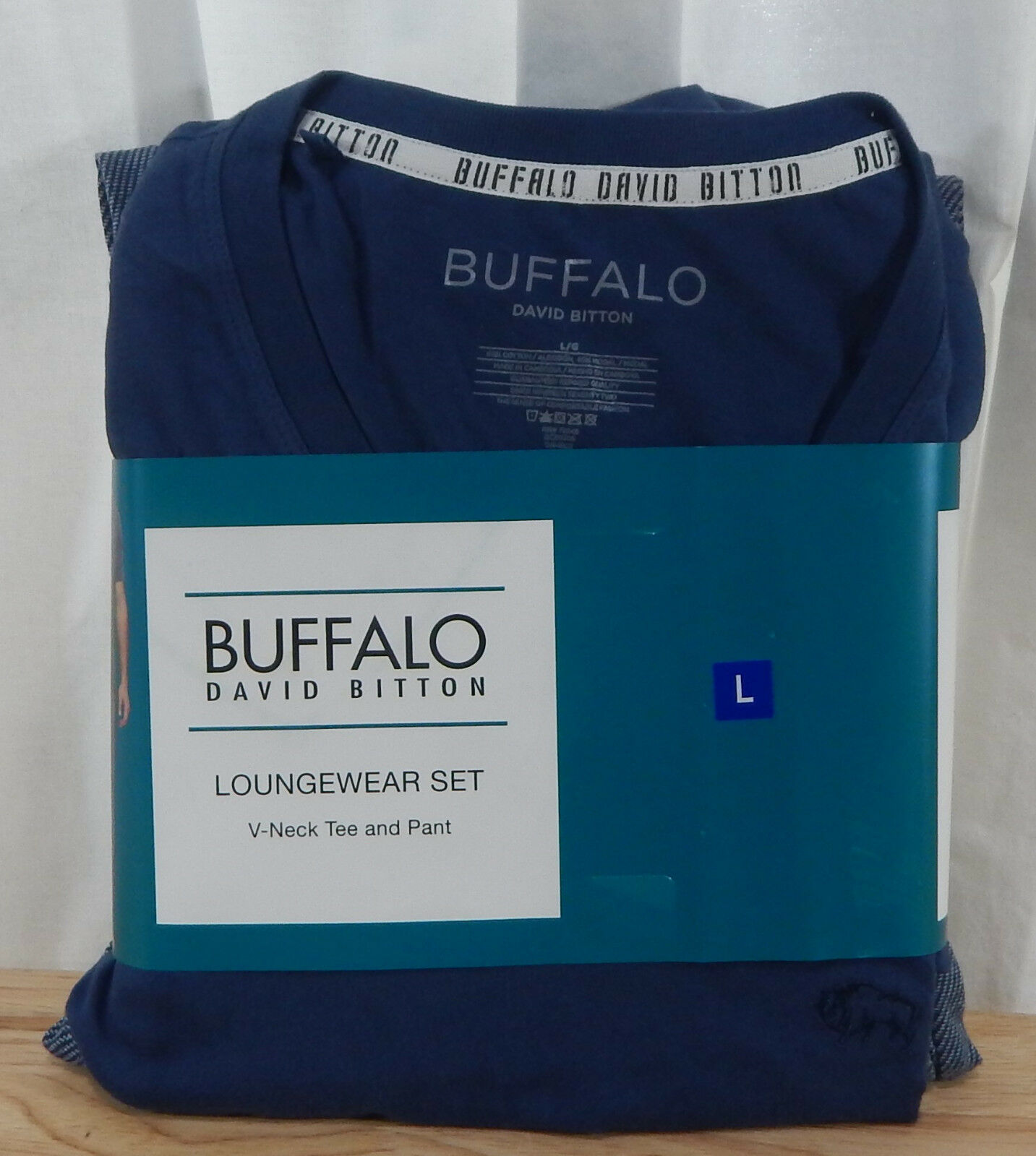 V-neck Tee and Pants Buffalo David Bitton Men/'s 2 Piece Lounge Set