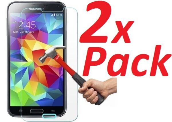 2x Ballistic Premium Real Verre Trempé Protecteur D'écran Pour Samsung Galaxy S5 Complet Dans Les SpéCifications