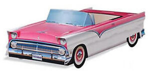 Image Is Loading 1955 Pink FORD Fairlane CENTERPIECES For BOOMERS CARDBOARD