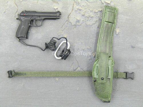 1//6 Scale TOY US SOCOM Ranger-M9 beretta Pistolet Avec Vert étui