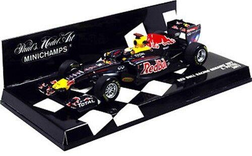Minichamps 1 43 2011 Red Bull Racing Renault RB7 Sebastian Vettel