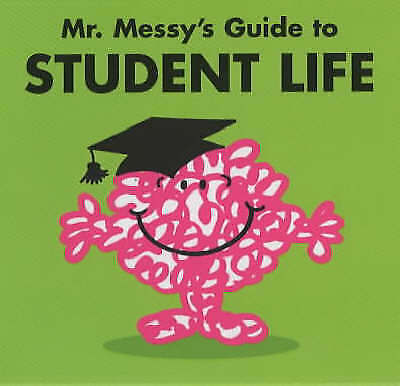 """AS NEW"" , Mr. Messy's Guide to Student Life, Hardcover Book"