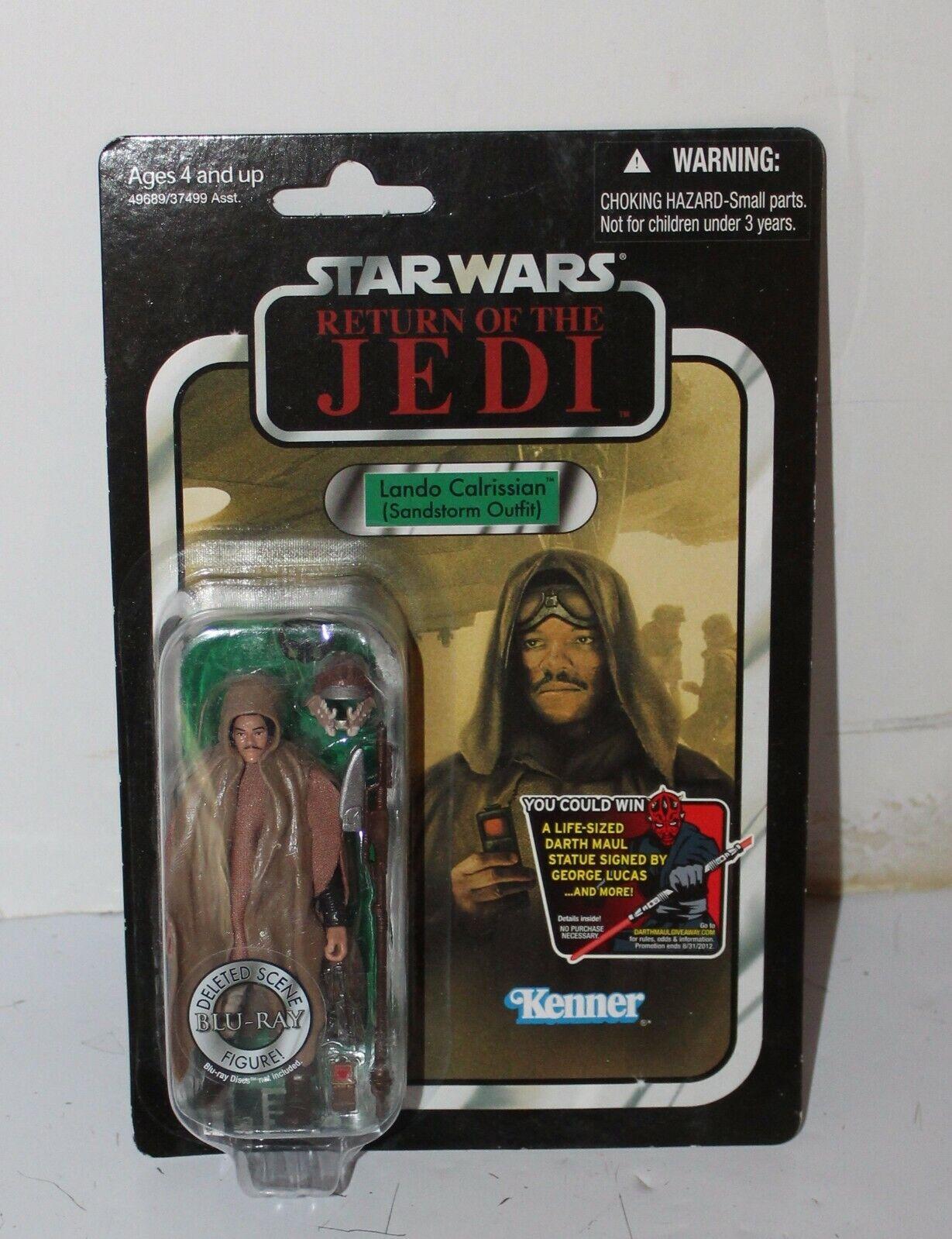 punto de venta Estrella wars regreso del Jedi 2012 Lando Lando Lando Calrissian tormenta de arena traje VC 89 menta en tarjeta  hasta 42% de descuento