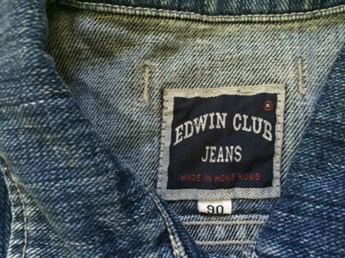 Edwin Club Jacket Jeans Trucker Sz S Style Short Kvinders Denim 6U6PxqBw
