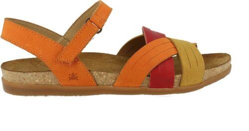 EL NATURALISTA 5245 ZUMAIA sandalo donna pelle orange mixed sughero gomma