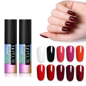 LILYCUTE-5ml-Pure-Tips-Gellack-Series-Soak-Off-UV-Gel-Polish-Nail-Art
