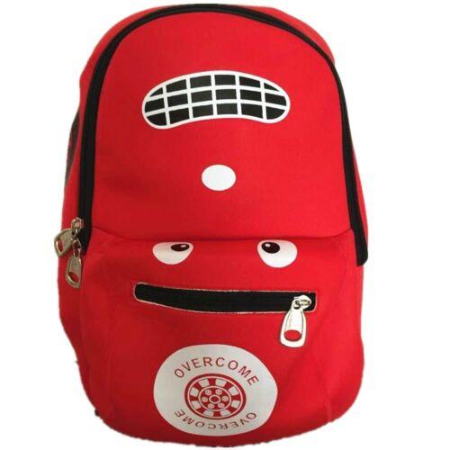 New Childrens Kids Boys Girls Cute Racing Car School Backpack Gym Travelling Bag