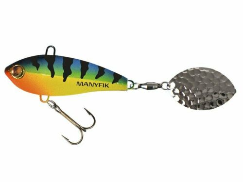 Manyfik IWO OL 23 55mm 23g Spinning Lure Spinnerbait Perch Pike NEW COLOURS