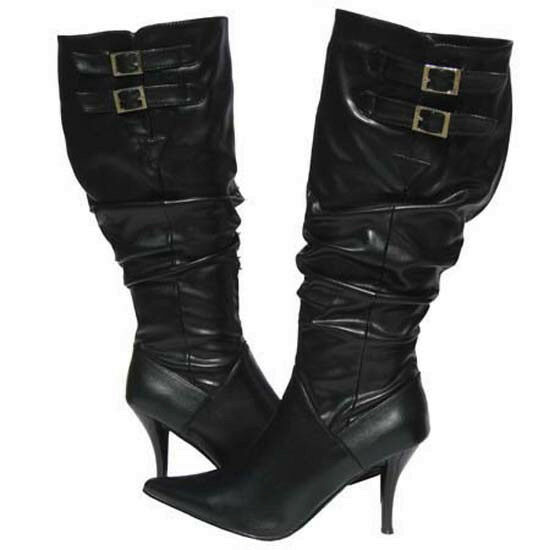 Women's Fashion BOOTS BLACK Designer Winter Snow shoes Ladies Size 5.5