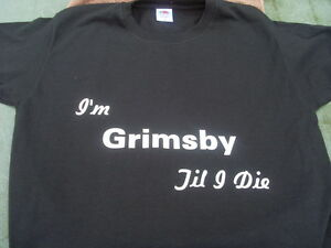Grimsby Town T-Shirts Inc 4XL 5XL Personalised Fathers Day Christmas Birthd Gift
