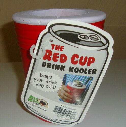 Red Cup Cooler Koozie Coozie Beer Drink Beverage Pop Can cozy BigMouth Toys