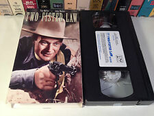 Two-Fisted Law Rare Classic Western VHS 1932 OOP HTF John Wayne Tim McCoy