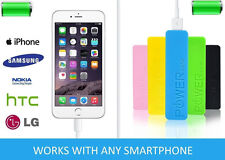 Portable charger BATTERY PACK Powerbank 2600mAh Phone charger. FREE USB CABLE