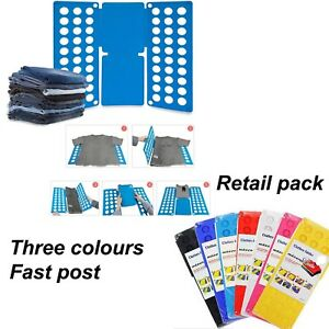 a4382bef65c8 Details about MAGIC CLOTHES FOLDER ORGANISER T SHIRT JUMPER EASY FOLD  LAUNDRY UK SELLER