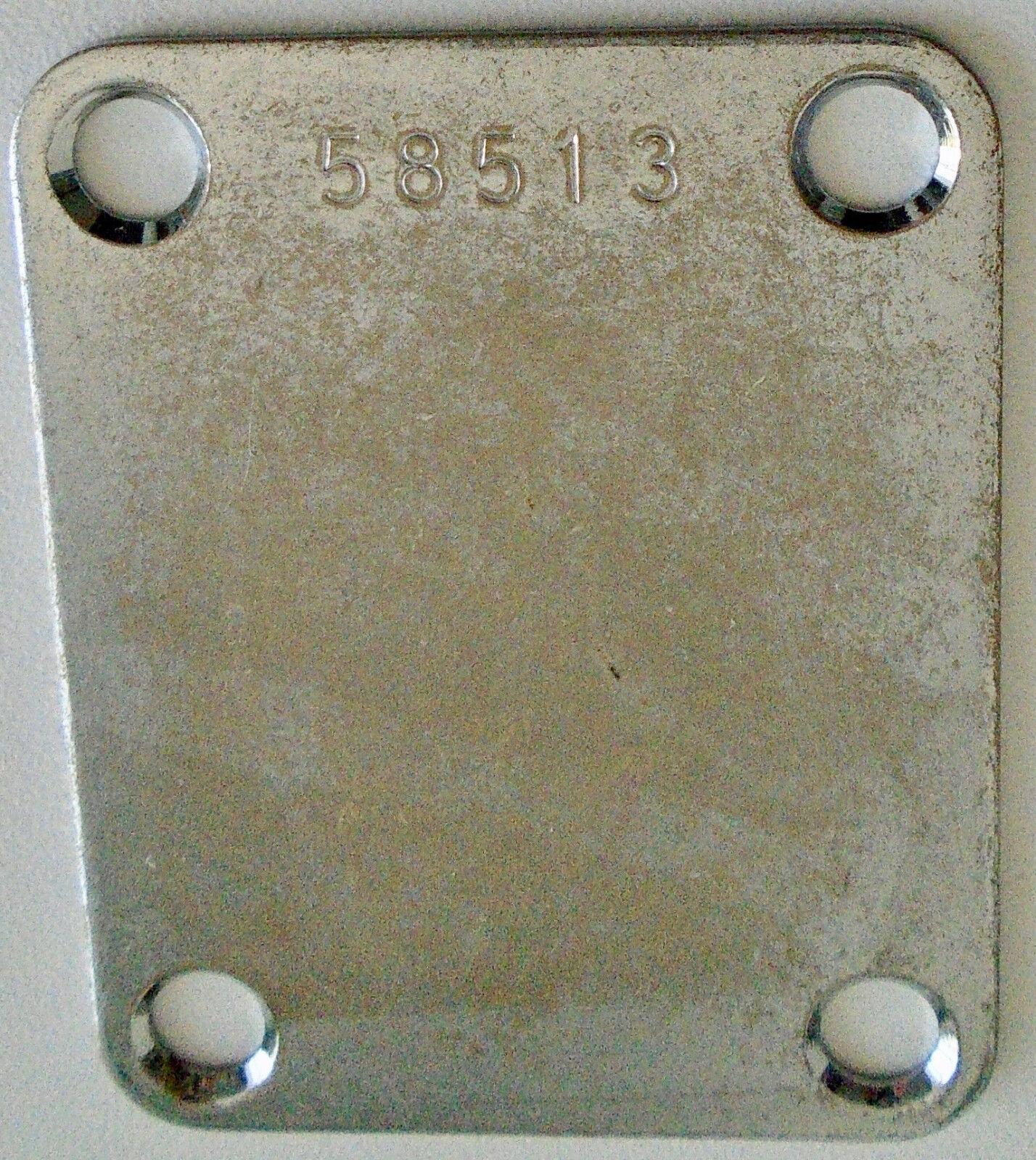 Hals Flach Vintage Serial Number 58513 - Distress - für Gitarre oder Bass