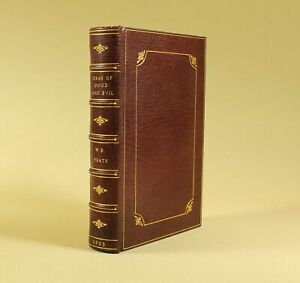 W-B-Yeats-Ideas-of-Good-and-Evil-1903-Fine-Leather-Binding-Signed