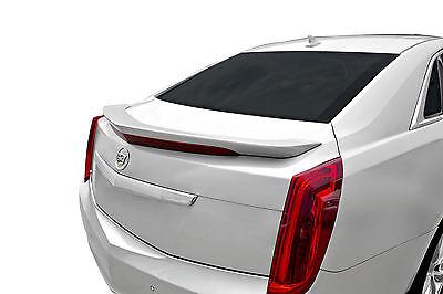 Cadillac XTS 4 Door WA8555 BLACK CLEARCOAT Painted Trunk Spoiler For 13