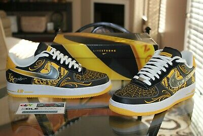 Deadstock Nike Air Force 1 Low Busy P Livestrong Mr Cartoon Supreme Size 11 | eBay