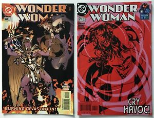 Wonder-Woman-s-144-and-171-Adam-Hughes-Covers-VF-to-VF-DC-Comics-1999-2001