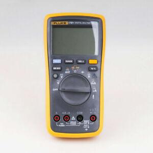 FLUKE-17B-F17B-Digital-multimeter-Meter-Tester-DMM-with-TL75-test-leads-New