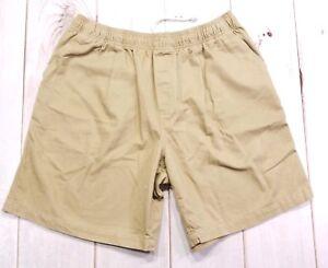 Gotcha-Mens-Tan-Shorts-size-XL-32-34-beach-surf-Swim-Trunks