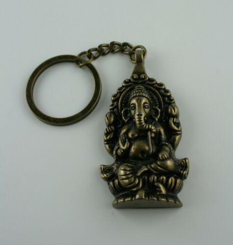 Ganesha Schlüsselanhänger  Hindu Gott  Elefant  tribal