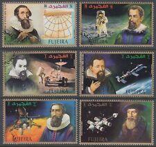 Fujeira 1972 Mi.826/31 A fine used c.t.o. Weltraum Space Johannes Kepler