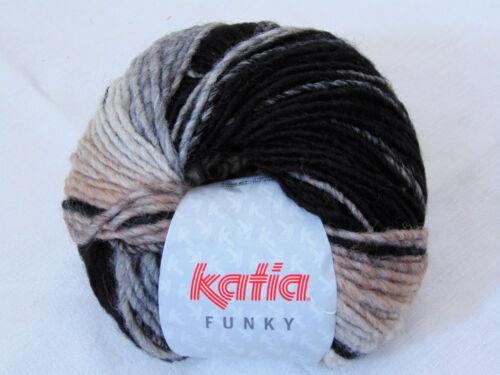 Katia 100g // 3,99€ 100g Wolle FUNKY Garn