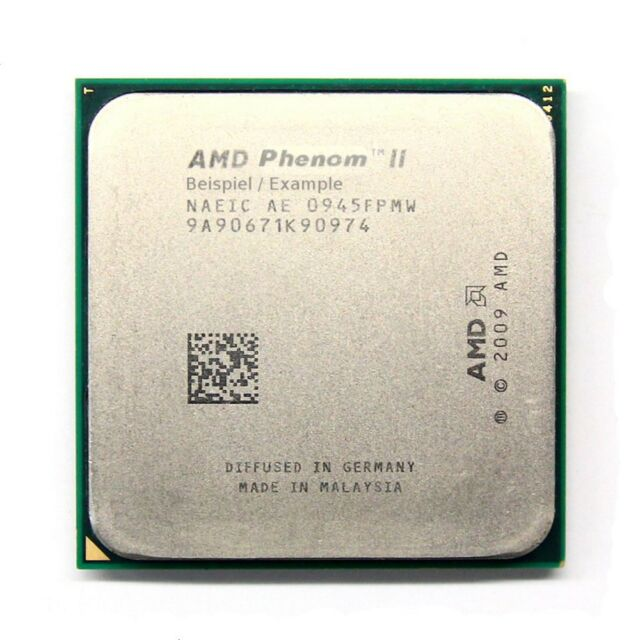 AMD Phenom II X2 511 3.40GHz Socket Sockel AM3 HDX511OCK23GM Dual Core Processor