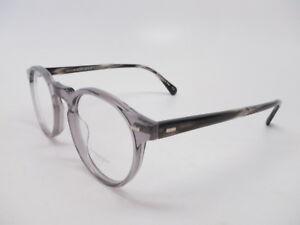 ddb3615aa8 Oliver Peoples OV 5186 Gregory Peck 1484 Workman Grey Eyeglasses ...