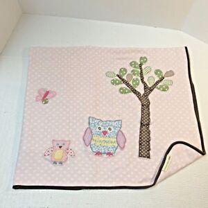 Pottery Barn Kids Pbk Pink White Dots Hayley Owl Tree