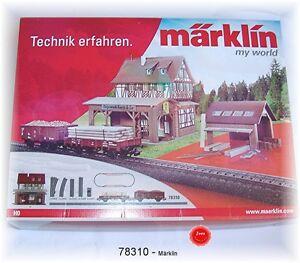 """Märklin 78310 Extension Set """" Forestry """" Fits 29310 # New Original Packaging"""