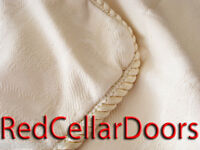 Sure Fit Canada Elegant Ivory Cushion Shells Elegant Satin Rope Trim 15 Sq