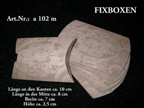 50 Fixboxen Faltschachteln Schmucketui Diverse Größen