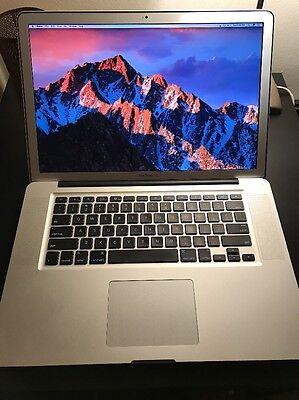 2011 Macbook Pro 15 I7 2.2 Ghz 16gb 750 Hdd + 256 Flash Photoshop - Lightroom Snelle Warmteafvoer