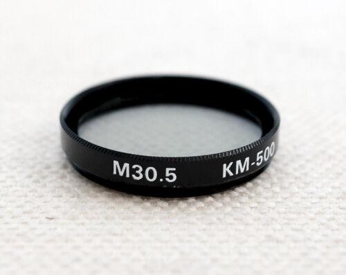 Filtro de densidad neutra KM-500 30.5mm ND2x para la lente de la Cámara