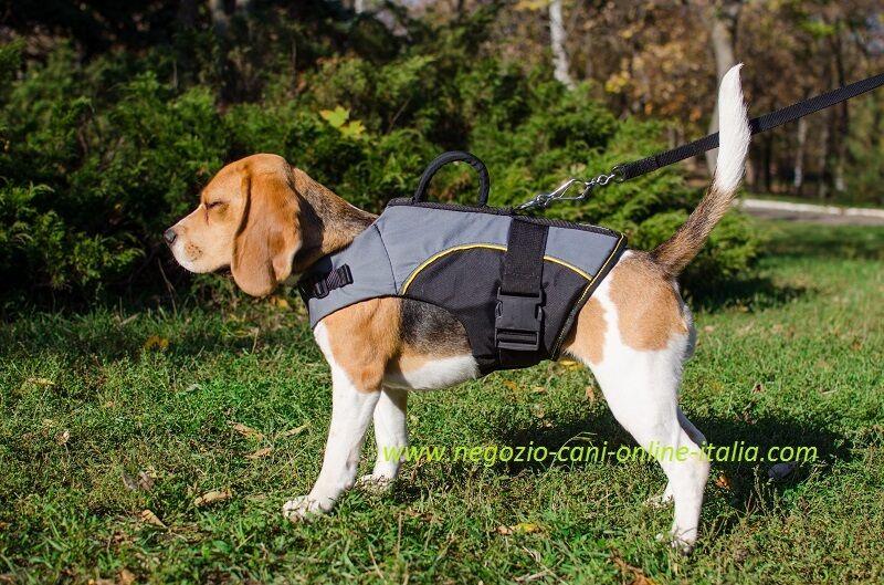 Comoda pettorina per cane convalescente, regolabile, resistente, impermeabile