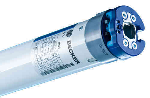 Becker Funk Rohrmotor Sonnenschutz PSF(+),Serie R Typ  PSF(+)