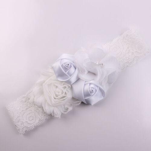 1 PCS Baby Girl Hair Bow Headband Flowers Design Hairband Turban Knot Headwear