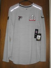 Nike Atlanta Falcons Super Bowl 51 Media Day Long Sleeve Shirt Mens Small  for sale online  70484d21e