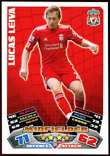 Lucas Leiva Liverpool #138 Topps Match Attax Football 2011-12 Trade Card (C208)