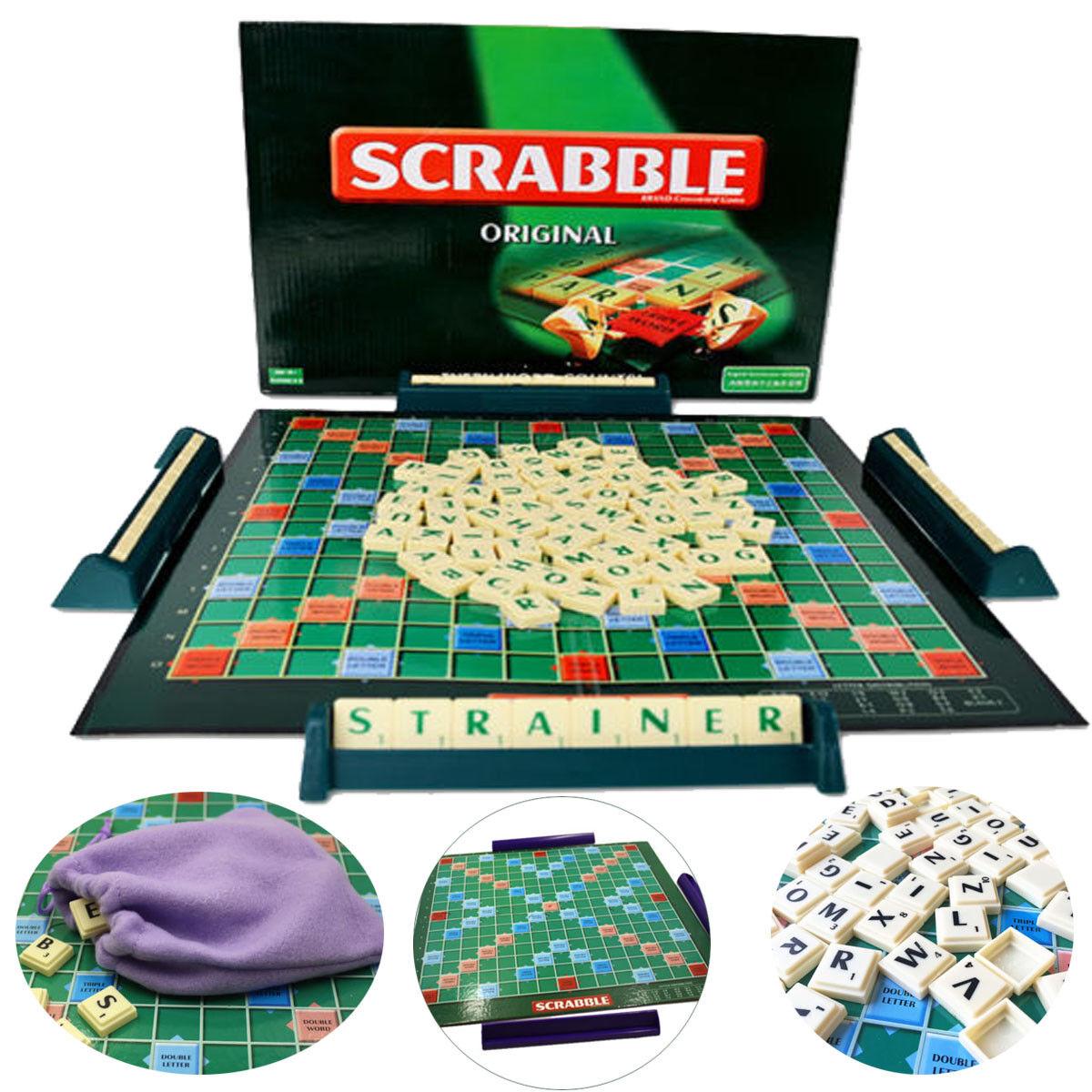 Mattel Spiele Original Scrabble Kompakt Legespiele Kinderspiele SPielzeug NEU