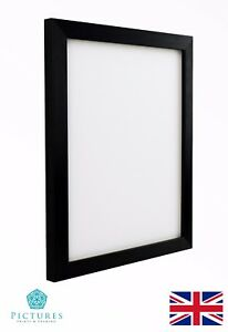 Details about Black Photo Picture Frame 19mm 3x3