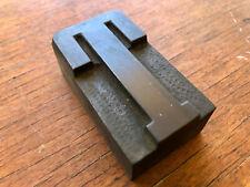 Large Antique Letterpress Wood Type Printing Block Varsity Style Letter T