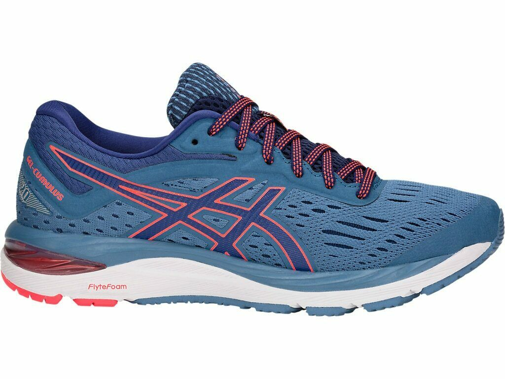 ASICS Women's Gel-Cumulus 20 Running shoes, Azure bluee Print, 6.5 B US