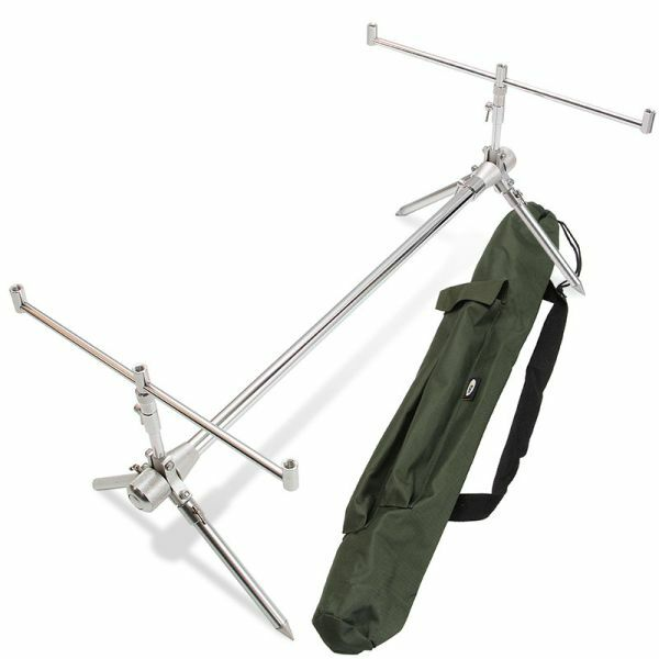 Rod Pod Oldschool Classic - Light, Stable, Aluminium - Similar Sod Pod, Rod Rest