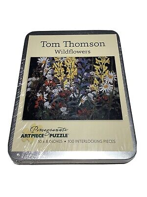New Pomegranate Art Piece TOM PALMORE BUTCH /& GINGER Puzzle 100 Pieces Tin Case